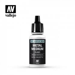 Vallejo Metal medium 70521