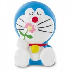 Doraemon con fiore statuina