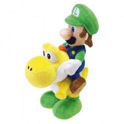 Peluche Luigi su Yoshi