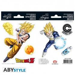 Dragon Ball Z adesivi Goku...